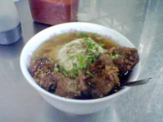 豊原の排骨麺